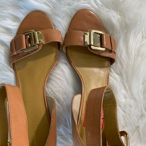 Nine West wedge heels—10M